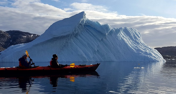 Kayaking East Greenland