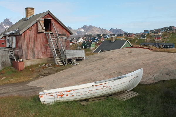 Village of Tinit in East Greenland