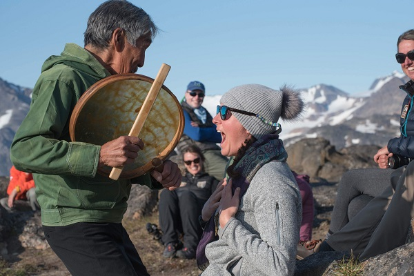 Pure joy in East Greenland