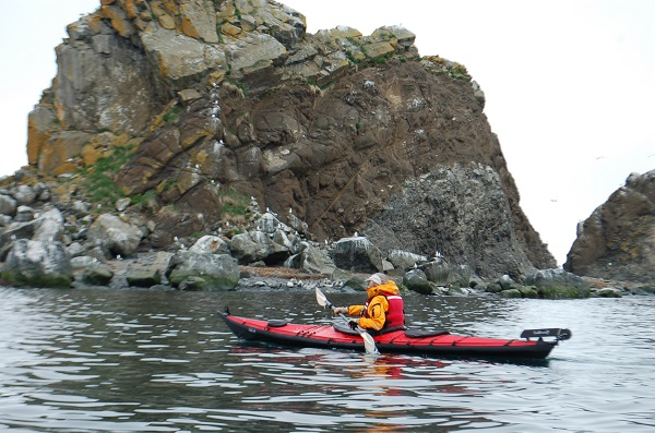 Kayaking the Bering Strait