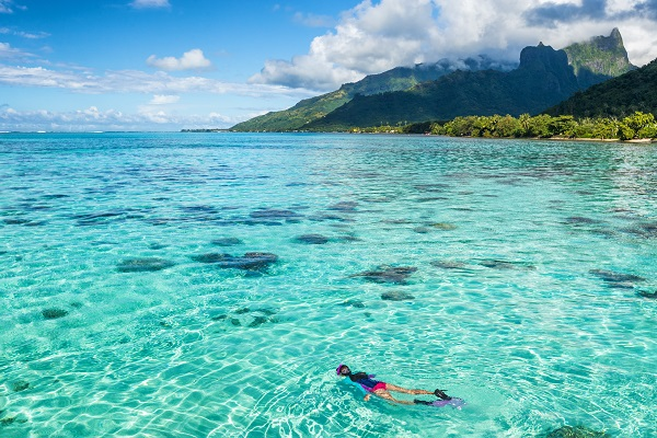 Reef in French Polynesia